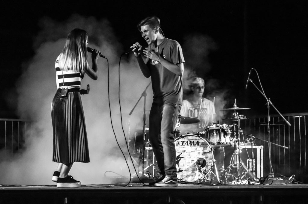Mejo Band in concerto