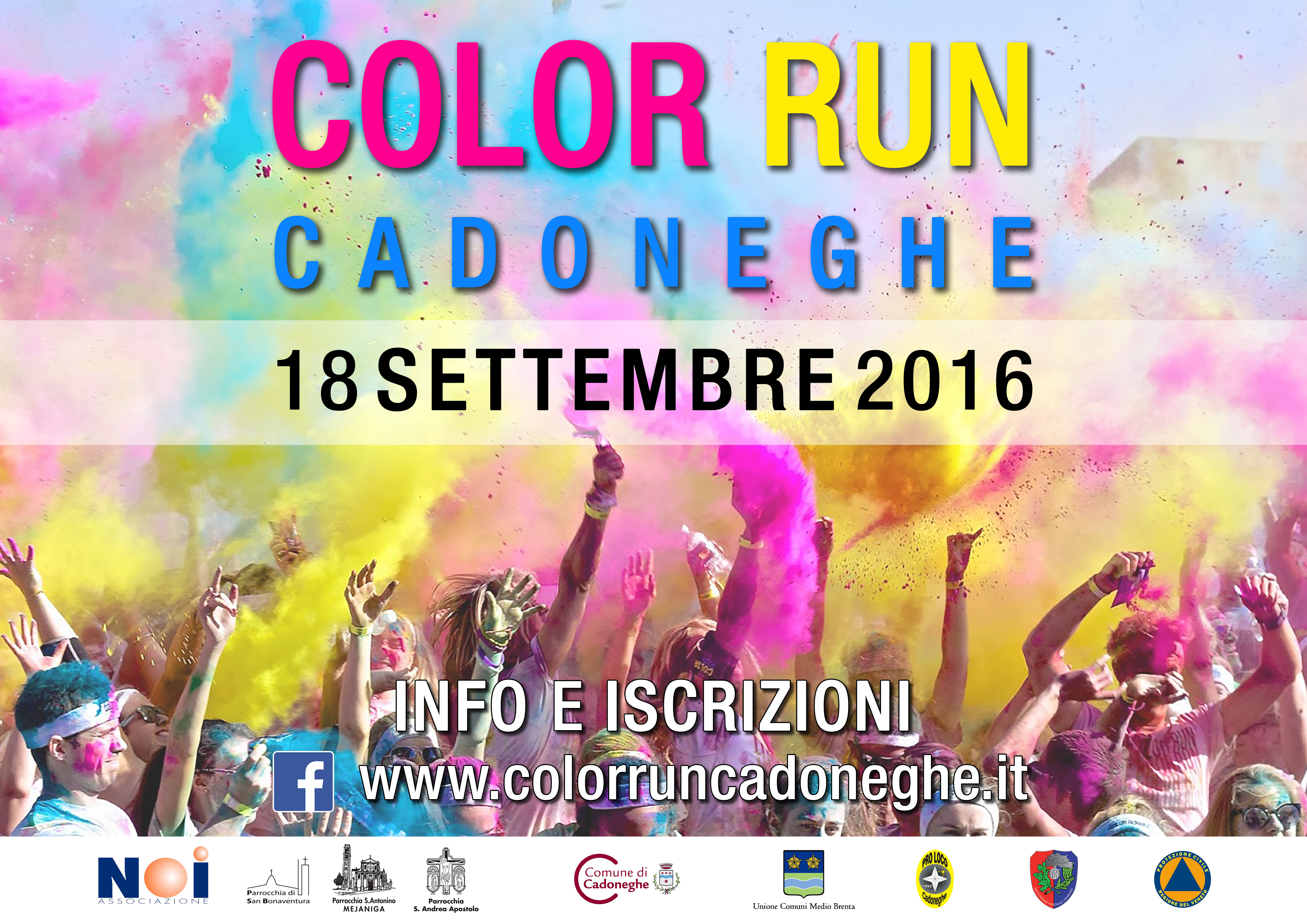 Color Run Cadoneghe: 18/09/2016