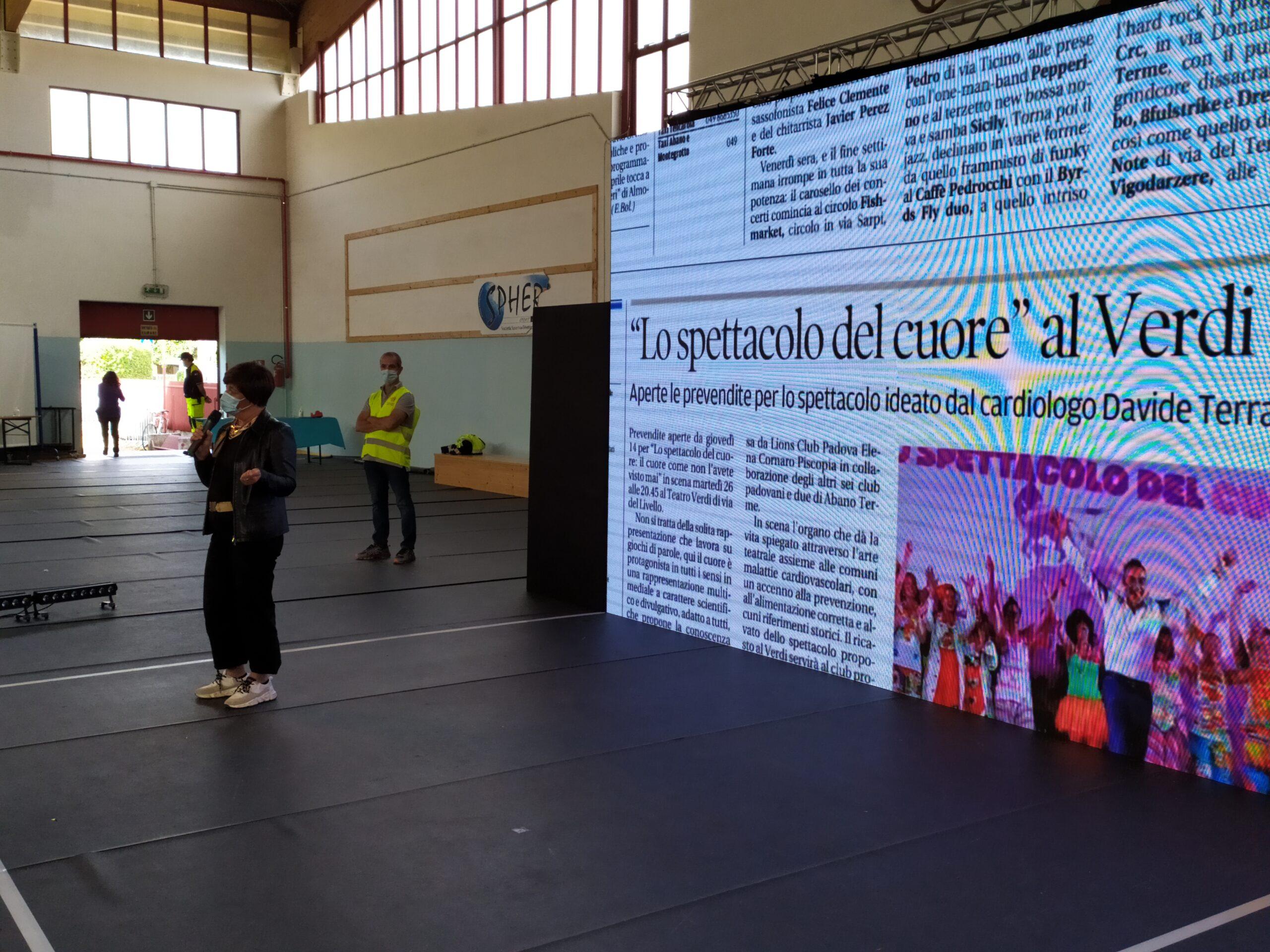 Spettacolo del Cuore a Cadoneghe (PD)